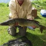 Pike caught in grounds
